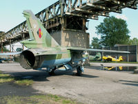 332 - Mikoyan-Gurevich MiG 23ML/Preserved at Peenemunde - by Ian Woodcock
