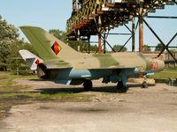 821 - Mikoyan-Gurevich MiG-21PFM/Preserved at Peenemunde - by Ian Woodcock