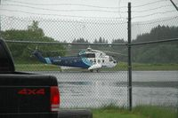 C-GYCH @ ADQ - The helicopter at Kodiak, Alaska state airport - by Jay Barrett