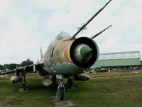 366 - Sukhoi Su-22 M-4K/Preserved Nordholz Aeronauticum (carries East German marks 366) - by Ian Woodcock