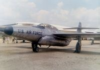 53-2520 @ FFO - F-89D at the old Air Force Museum at Patterson Field, Fairborn, OH.  Whereabouts now unknown - by Glenn E. Chatfield
