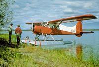 N766 - US Fish and Wildlife Floatplane - by Public Domain Photo