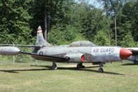 51-13575 @ BDL - F-94C at the New England Air Museum - by Glenn E. Chatfield