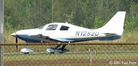 N1282D @ PVG - As I was leaving, so was she - by Paul Perry