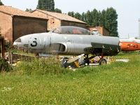 MM51-9141 - Lockheed T-33A/Preserved/San Possidonio - by Ian Woodcock