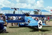 N112DR @ OSH - Replica DR.1 at the EAA fly in - by Glenn E. Chatfield