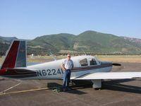 N6224U @ C24 - N6224U with owner visiting Creede Colo. - by Owner Steve Creed