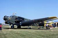 N352JU @ C73 - Air show day - by Glenn E. Chatfield