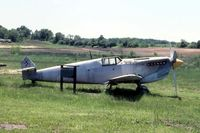 UNKNOWN - Spanish-built Me.109 that was in the movie Battle of Britain.  At (now defunct) Victory Air Museum at Mundelein, IL - by Glenn E. Chatfield