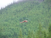 C-GESG - heli logging - by cc