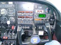 N1190X - N1190X console, in flight, right half. - by Chris A. Epler
