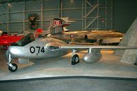 17074 - Vampire, Rockcliff Air Museum - by Dirk Fierens