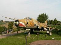 27 - Sukhoi Su-22 M4/Preserved/Cerbaiola,Emilia-Romagna - by Ian Woodcock