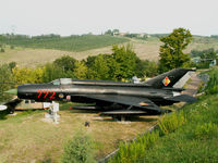 772 - Mikoyan-Gurevich MiG 21 MF-75/Preserved/Cerbaiola,Emilia-Romagna - by Ian Woodcock