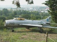 0316 - Mikoyan-Gurevich MiG-19S/Preserved/Cerbaiola,Emilia-Romagna (in Pakistani Marks 7110) - by Ian Woodcock