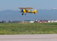 N735YP @ KAPA - Landing