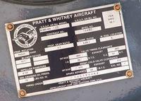N735YP @ KAPA - Pratt & Whitney Tag