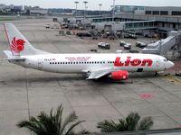 PK-LII @ WSSS - Boeing 737