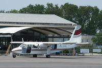 N123NE @ KWST - BN2A-26 Islander - by Mark Pasqualino
