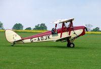 G-AOJK @ EGBK - Tiger Moth at Sywell UK