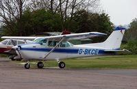 G-BKCE @ EGBG - Cessna F172P