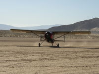 N60FG @ L90 - Broussard 214 taxi for take off at Ocotillo Wells - by FieryNature
