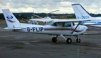 G-FLIP @ EGSY - Cessna FA152