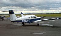 N2136E @ EGSY - Piper Pa28RT-201