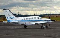 G-OSCH @ EGSY - Cessna 421C Golden Eagle