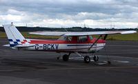 G-BCKV @ EGSY - Cessna FRA150L