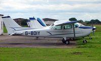 G-BOIY @ EGCF - Cessna 172N