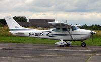 G-GUMS @ EGCF - Cessna 182P