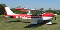 N2430U @ 42I - One of my old rides at the breakfast/lunch fly-in at Zanesville, OH.  This is the first I've seen this bird in 30 years!