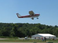 N2430U @ 42I - Departing the Zanesville, OH fly-in breakfast & lunch