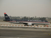 N161UW @ LAX - US Airways A321-211 in the que @ LAX - by Steve Nation