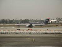 N161UW @ LAX - US Airways A321-211 beginning take-off @ LAX - by Steve Nation
