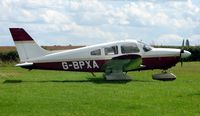 G-BPXA @ EGNF - Piper Pa-28-181