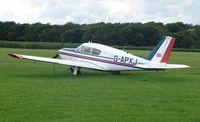 G-APXJ @ EGNF - Piper Pa-24-250