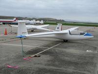 N106DS @ CVH - 1988 SZD-51-1 Junior Sailplane @ Hollister (CA) Municipal Airport, CA - by Steve Nation