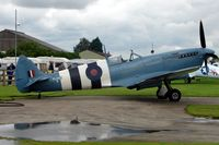G-MKXI @ EGBR - Spitfire wears marks PL965  R - by Terry Fletcher