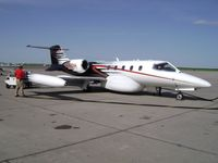 N136DH @ KAMA - sITTING IN aMARILLO - by epeter