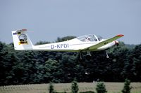 D-KFDI @ EBDT - Seen landing at Schaffen-Diest - by Joop de Groot