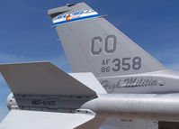 86-0358 @ KAPA - The Sting of the F-16 - by Bluedharma