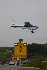 C-GIEU @ CYNJ - Cessna 185