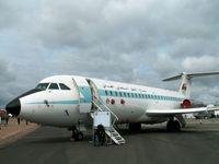 552 @ EGVA - BAC 1-11 485GD/Oman Air Force/RIAT Fairford - by Ian Woodcock