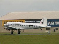 G-AMPY @ EGVA - Douglas DC-3-C-47B/RIAT Fairford (carries KK116) - by Ian Woodcock