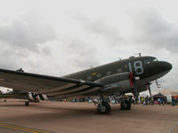 N1944A @ EGVA - Douglas DC-3-C-47A/RIAT Fairford (marked J8-B/315211) - by Ian Woodcock