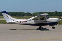 C-FPPP @ YXU - Taxiing across Ramp III for departure. - by topgun3