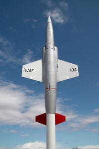 104652 @ INNISFAIL - Canadian Air Force F104 Starfighter