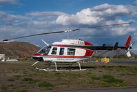 C-GWCF @ CYKA - Cariboo Chilcotin Bell 206